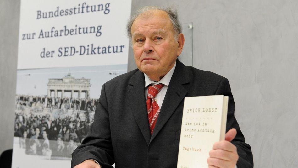 Vorstellung seines letzten Buches: Autor Erich Loest ist tot