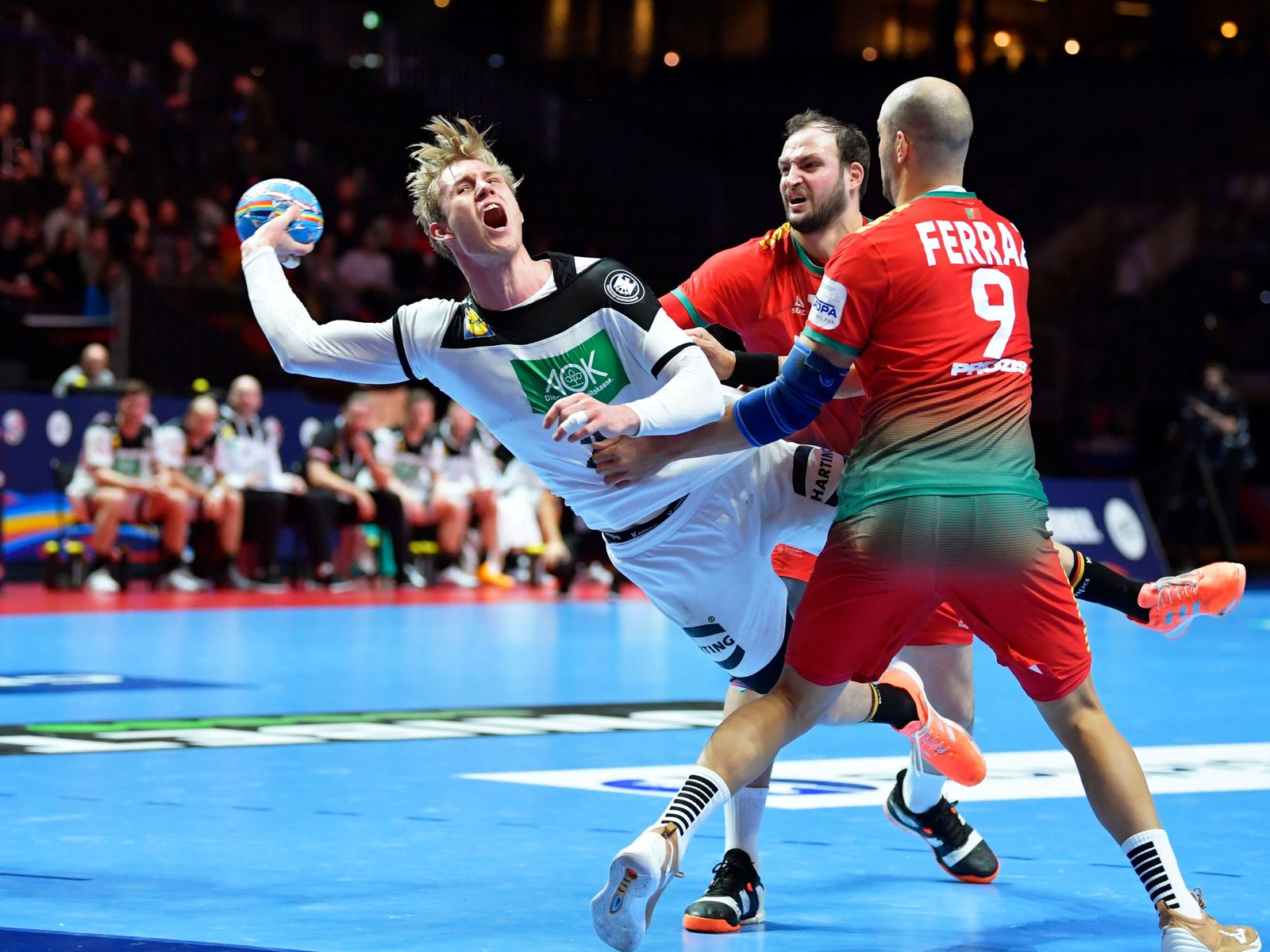 EHF Handball Men European Championship, Stockholm, Sweden - 25 Jan 2020