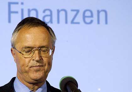 Finanzminister Eichel: Theoretisch ist ein neues Strafverfahren möglich