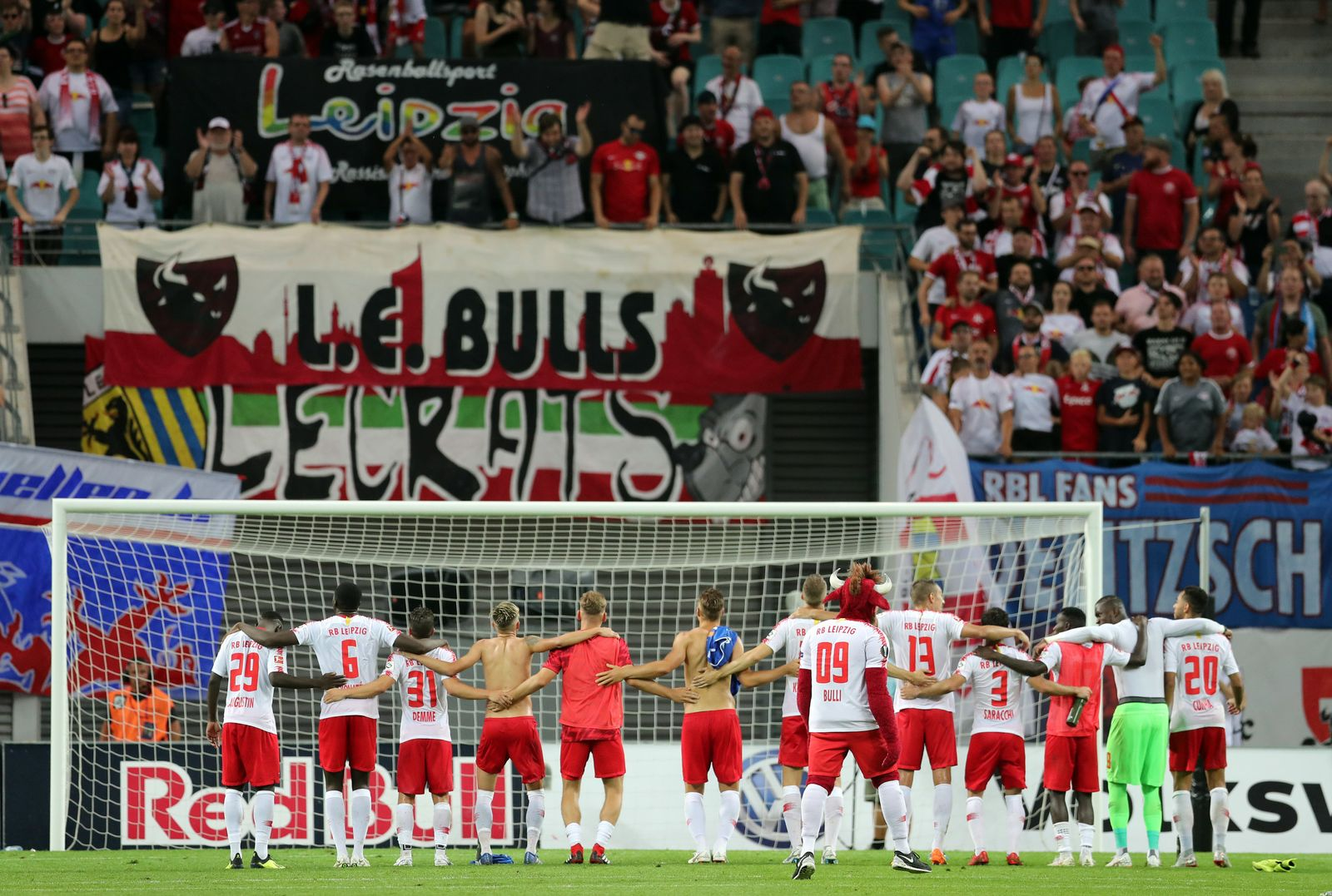 RB Leipzig - CS Universitatea Craiova 3:1