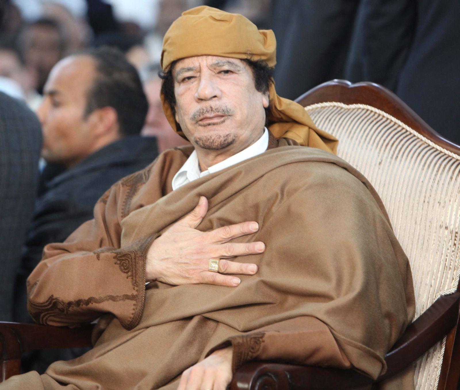Personenkult/ Gaddafi