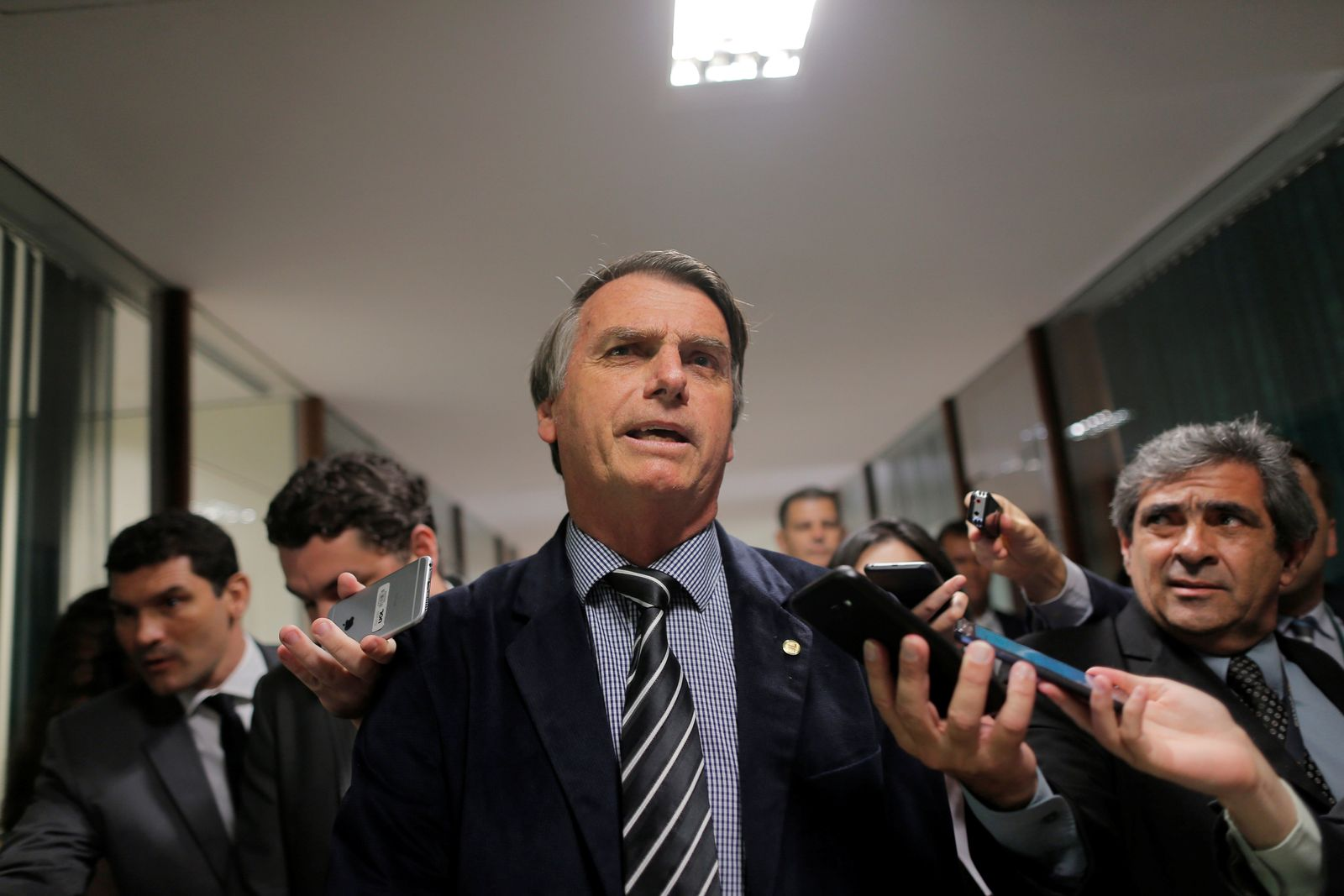 Brasilien/ Wahlkampf/ BOLSONARO