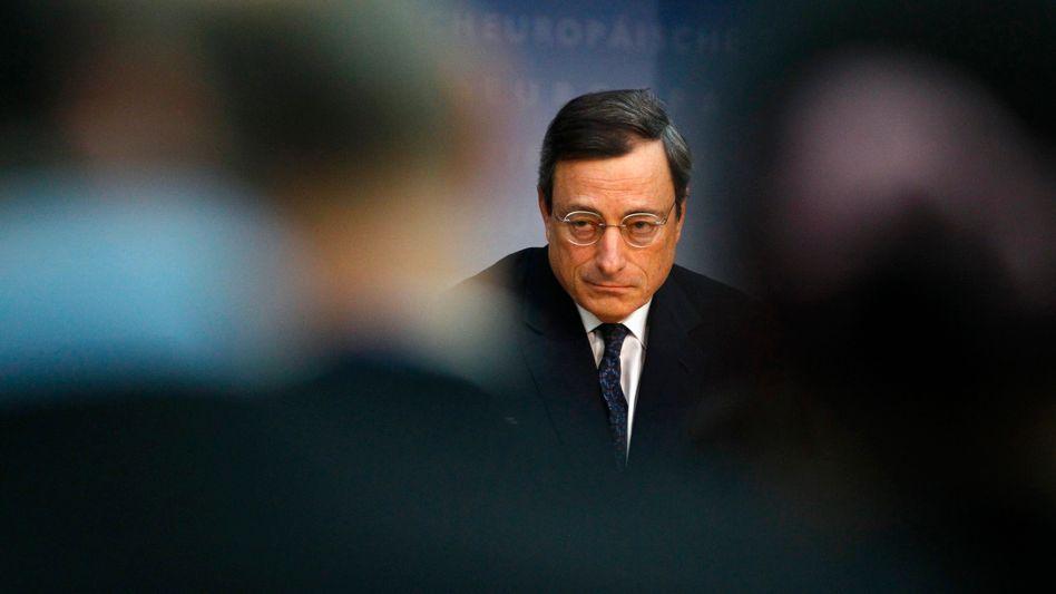 EZB-Präsident Draghi: Wachsen und Sparen
