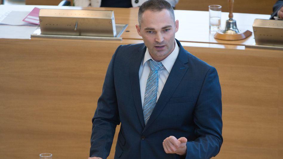 AfD-Politiker Sebastian Wippel