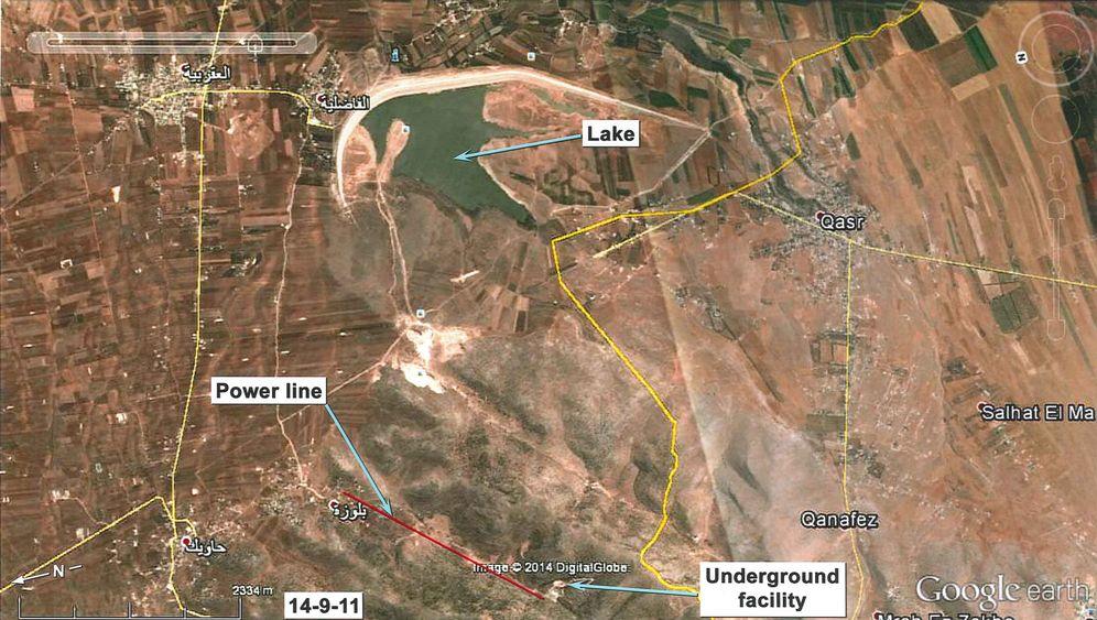 Satellitenfotos: Geheimanlage in Syrien