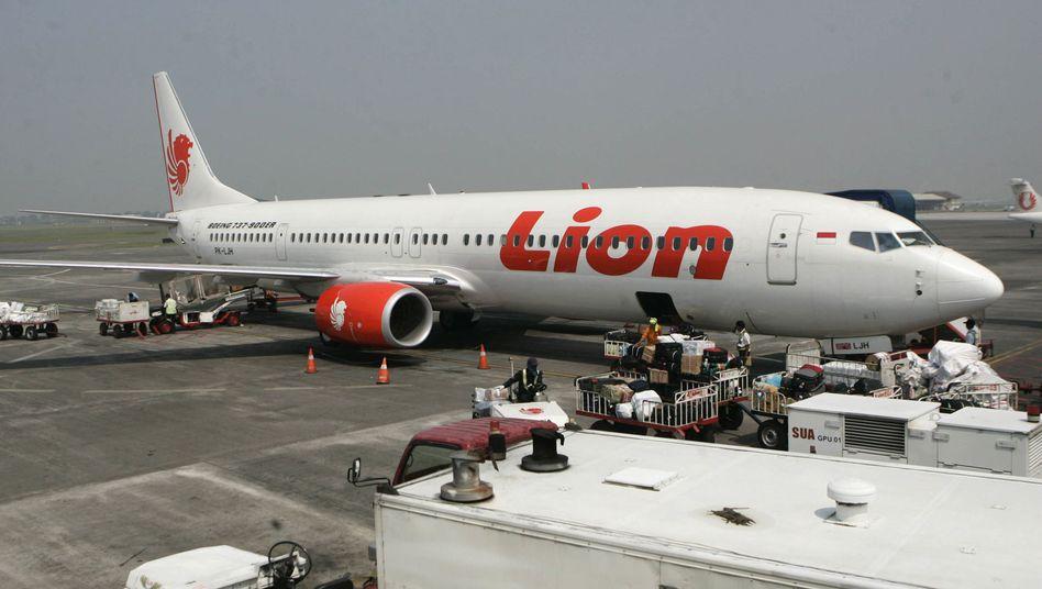 Flugzeug von Lion Air (Symbolbild)