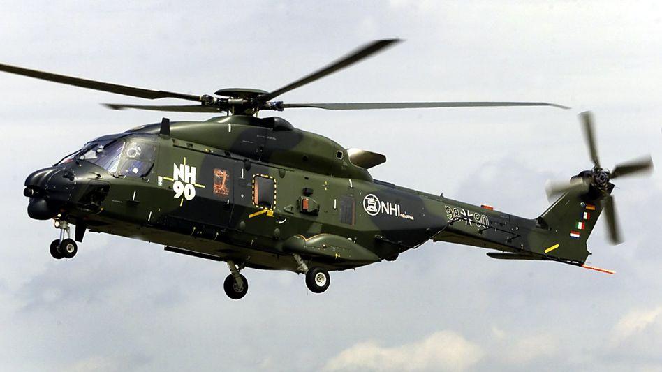 Bedingt abwehrbereit: Die neuen Bundeswehrhubschrauber von Eurocopter