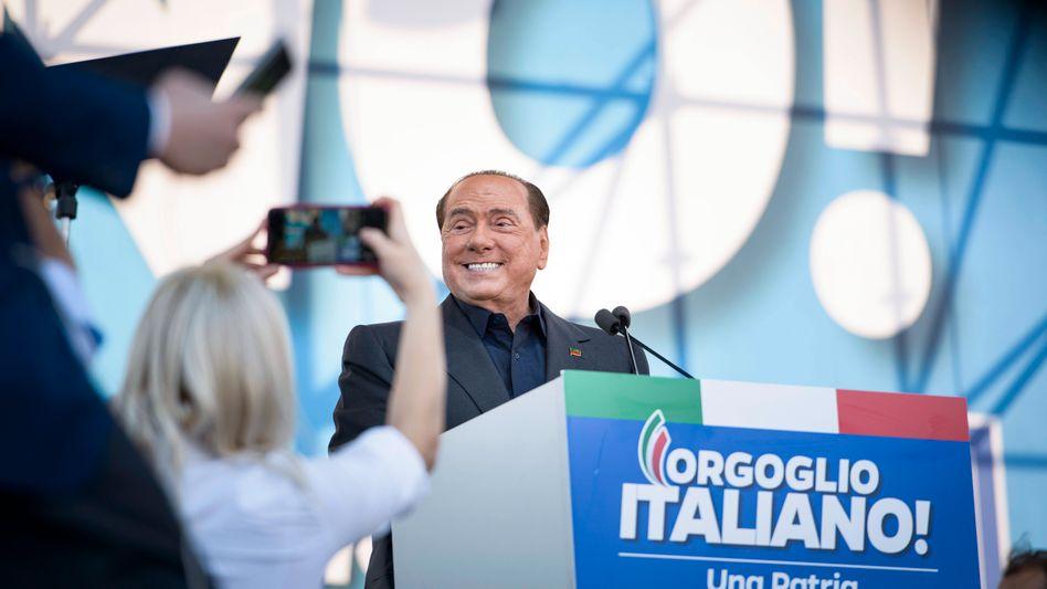 Ex-Regierungschef Berlusconi (2019): Das begehrte Amt des Staatspräsidenten wäre für Berlusconi die Krönung seiner Karriere