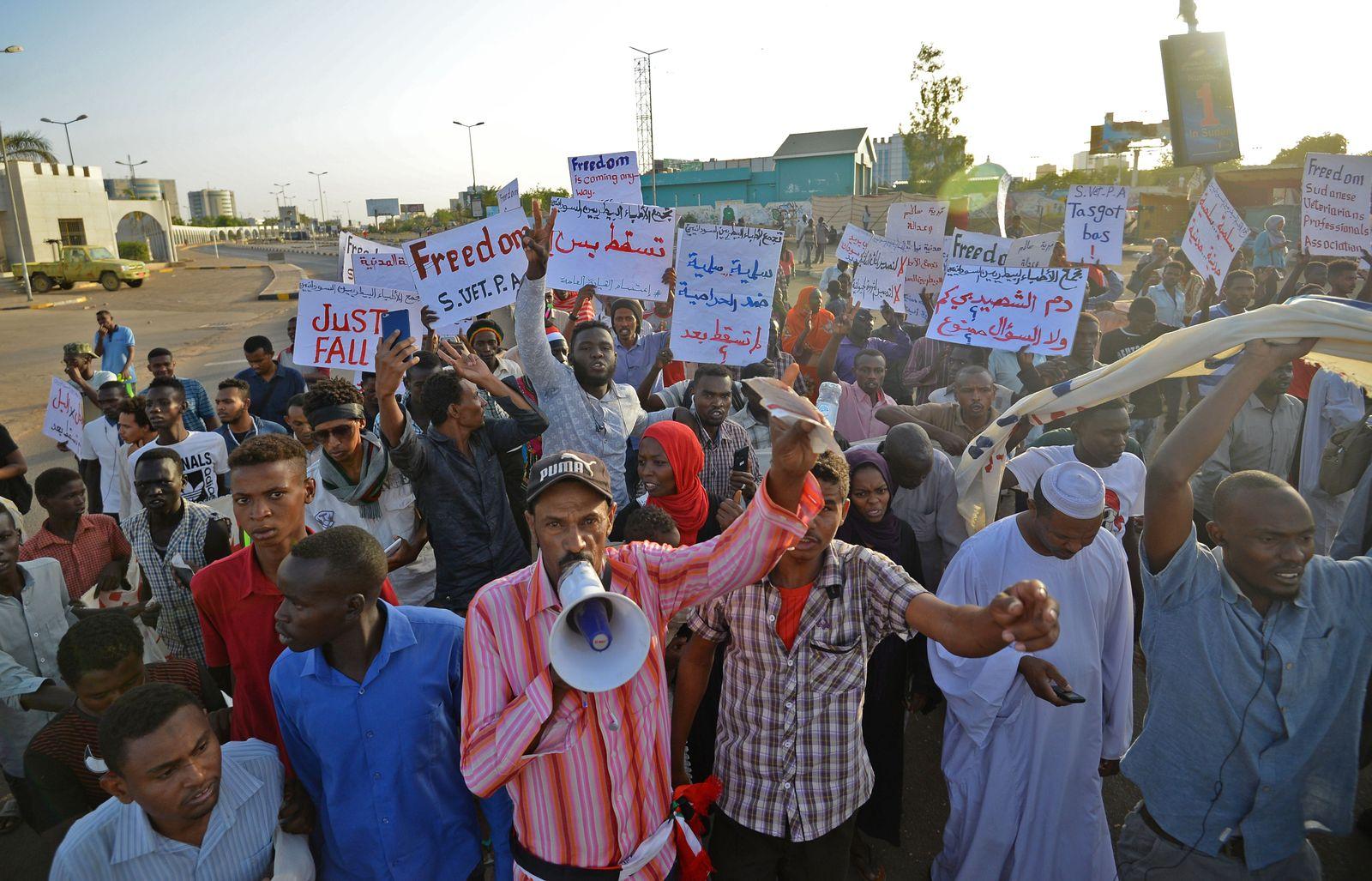 Sudan/ Proteste
