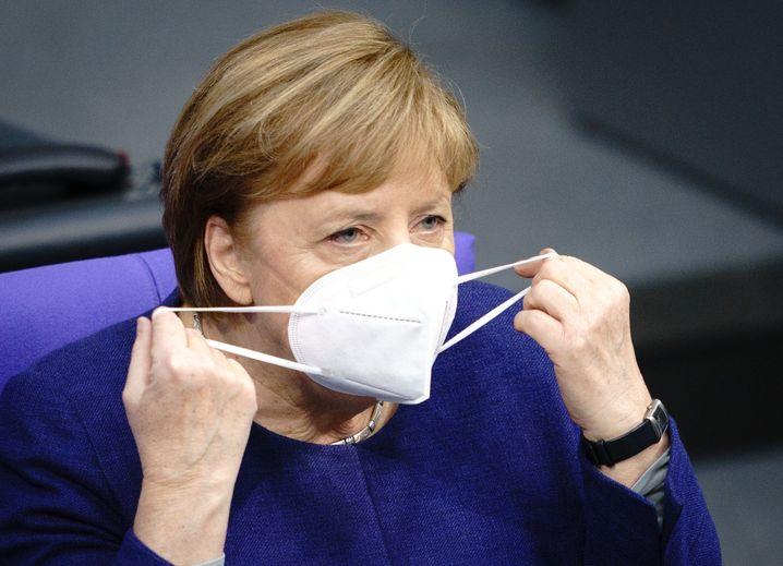 Bundeskanzlerin Merkel: Betont Wichtigkeit des Lüftens