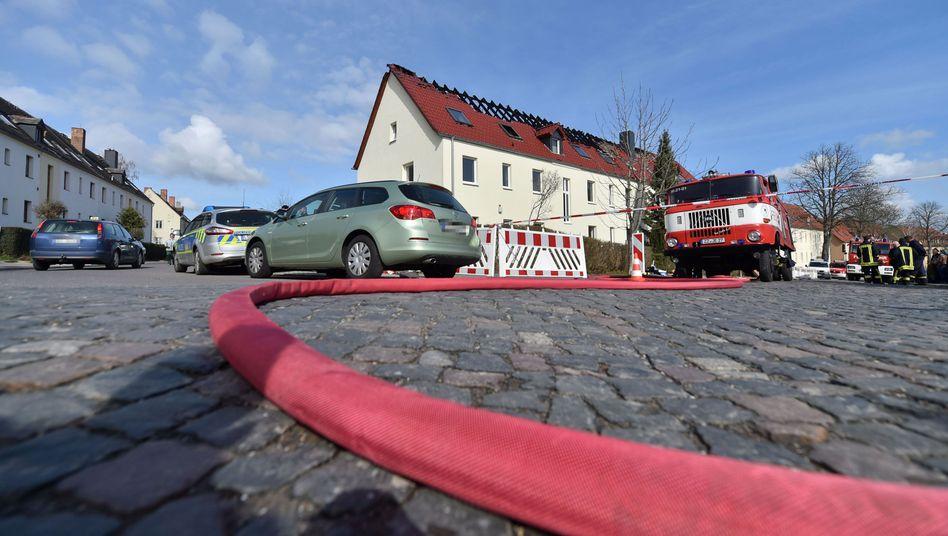 Angezündete Unterkunft in Tröglitz: Bundesweit eine zunehmend aggressive Bewegung