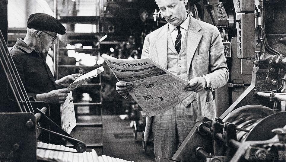 Verlagsgründer Springer 1958