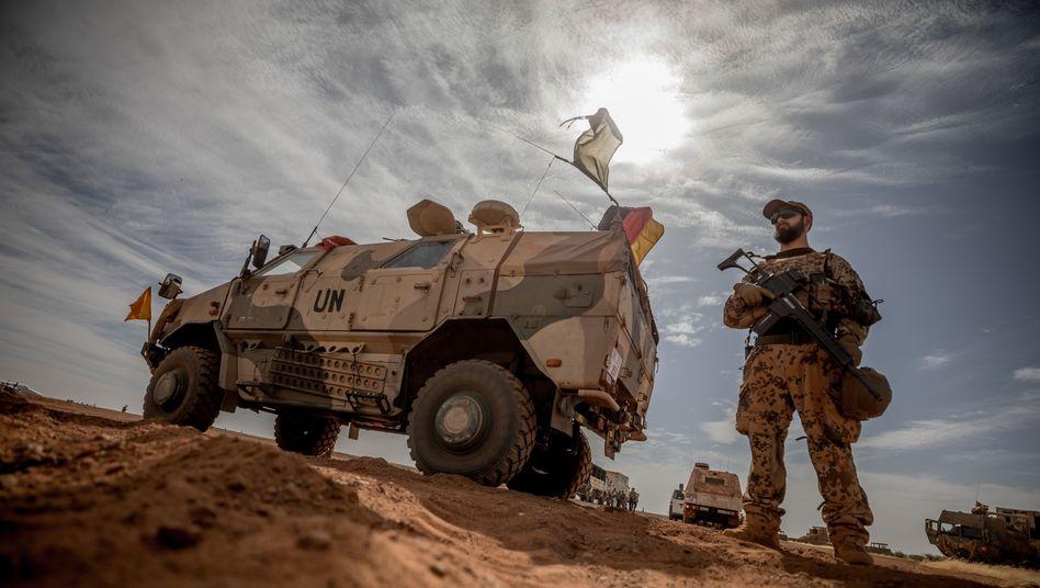 Bundeswehrsoldat in Mali (Foto vom November 2018)