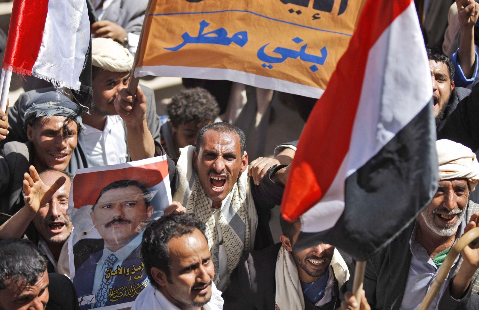 Protest in Jemen