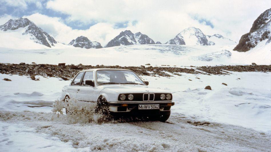 BMW 325ix (nicht der von Strauß, aber auch ein schöner)