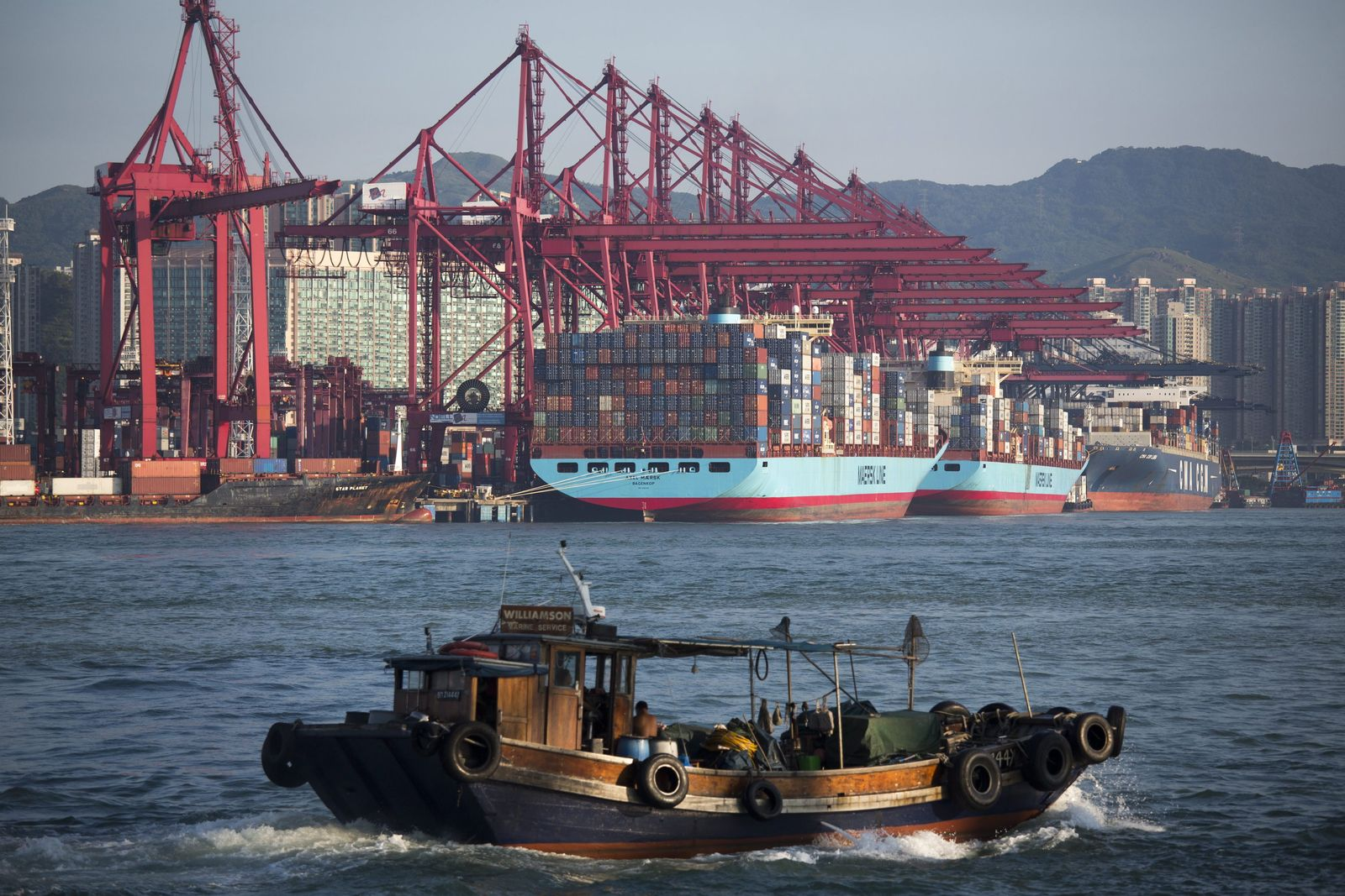 Containerhafen inn Hongkong