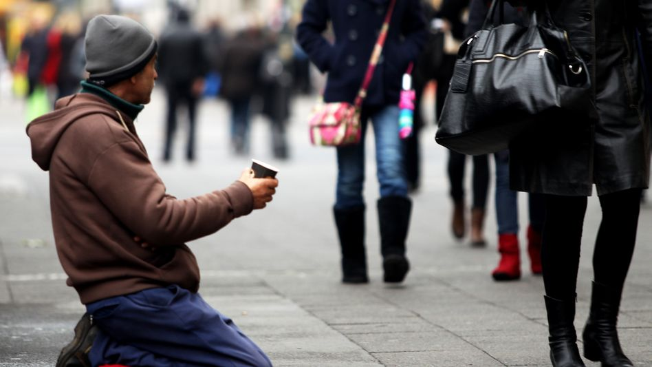 Armut in Berlin (Symbolbild)