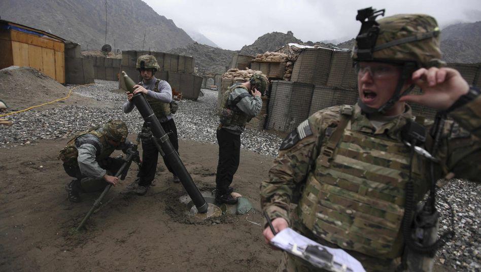 US-Soldaten im Pech-Tal: Kaum Fortschritte im Kampf gegen Taliban