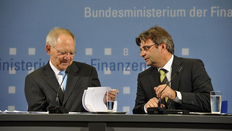 Nach öffentlicher Bloßstellung: Schäubles Sprecher tritt zurück