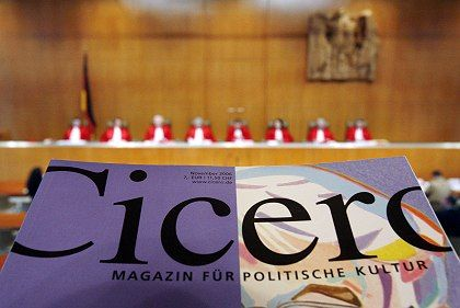 Press freedom is currently being considered by the German high court.