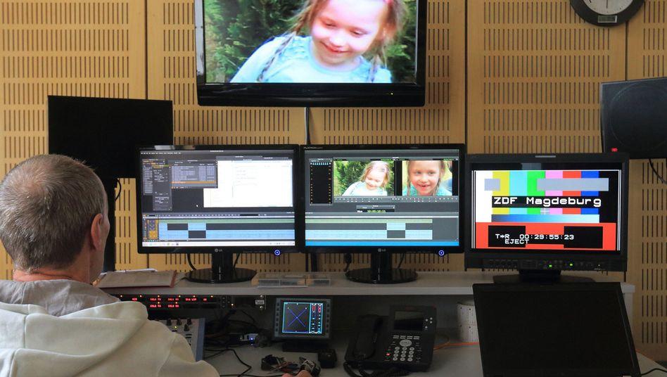 """ZDF-Studio in Magdeburg: Beitrag über vermisstes Kind bei """"Aktenzeichen XY...ungelöst"""""""