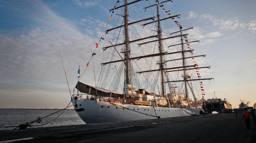"""Argentinisches Segelschulschiff """"Libertad"""": Alle Mann von Bord"""