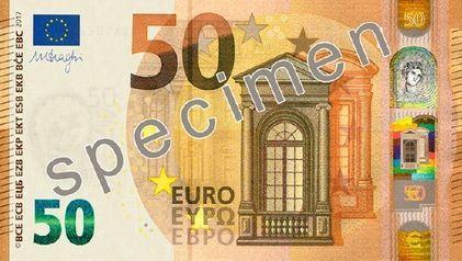 Die neue 50-Euro-Note