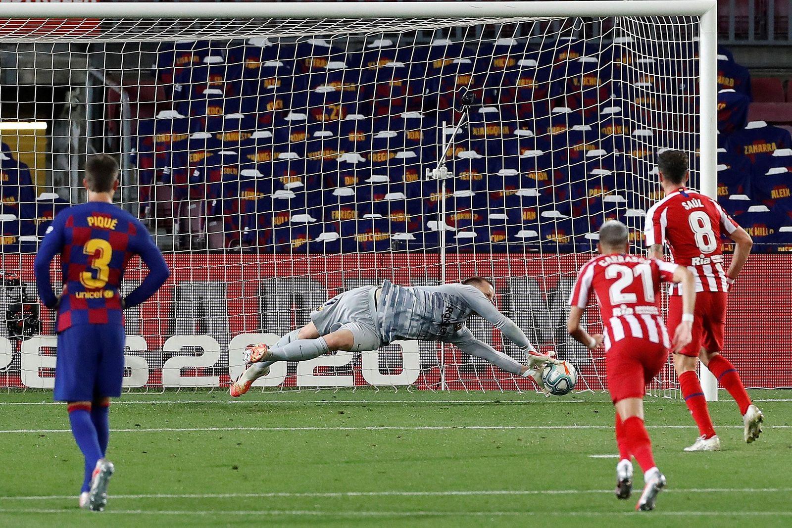 FC Barcelona vs Atletico Madrid, Spain - 30 Jun 2020