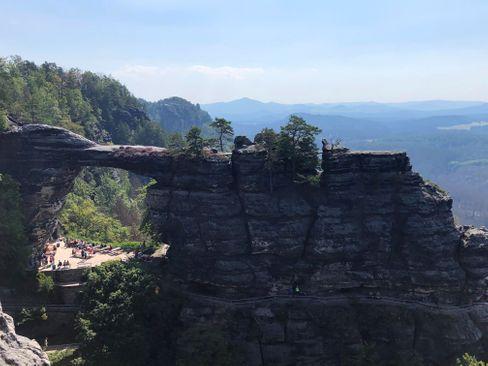 Sächsische Schweiz: Steffen Krug hat viel gesehen - auch das Prebischtor auf tschechischer Seite