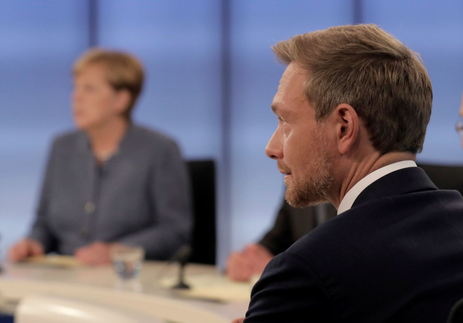 GERMANY-ELECTION/REACTIONS TALKSHOW