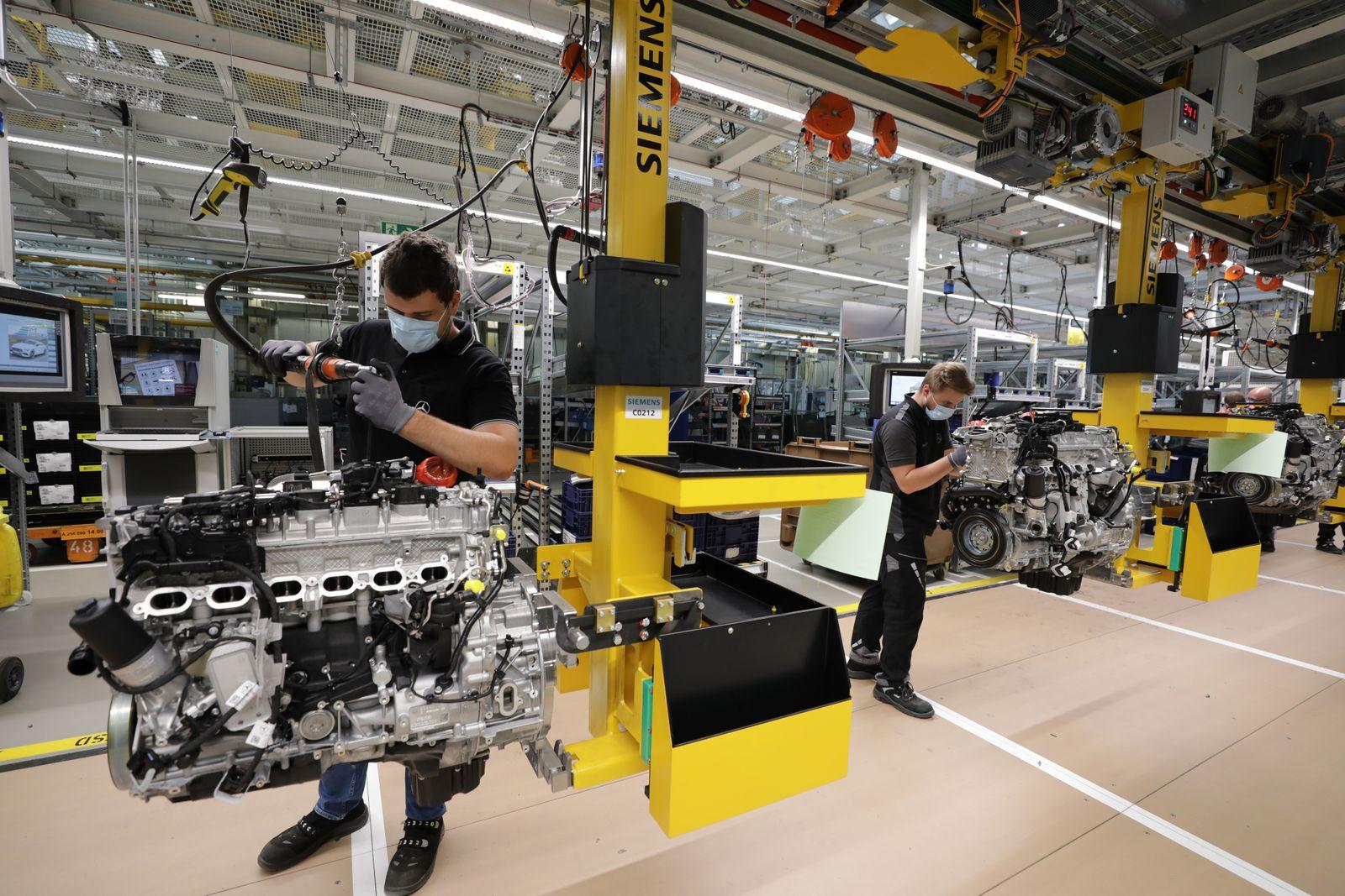 Daimler AG Reopens its German Powertrain Factory