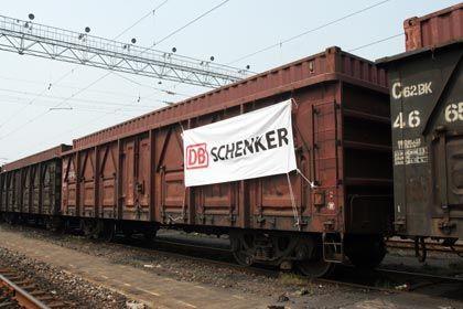 Schenker-Containerzug: Enge Zusammenarbeit bei Spitzelausbildung