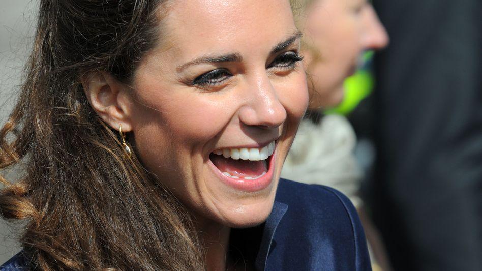Designierte Prinzessin Kate Middleton: Öfter erwähnt und zitiert als Diana