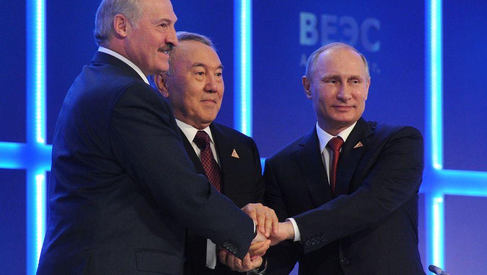 Vorbild EU: Russlandgründet Eurasische Wirtschaftsunion