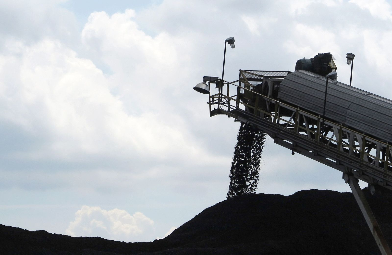 Kohlegeschäft in Ohio