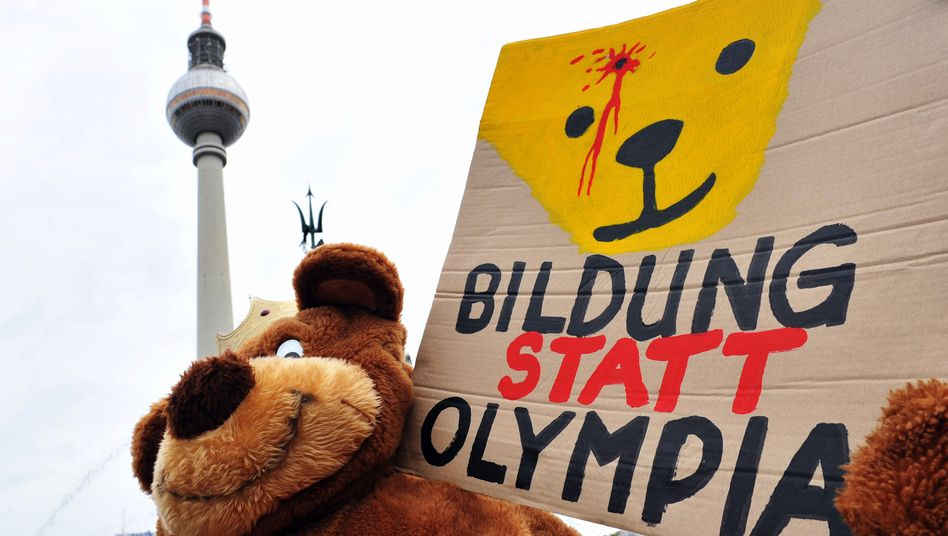 Proteste gegen Berlins Olympia-Bewerbung: Berlin braucht vieles, aber keine Olympischen Spiele