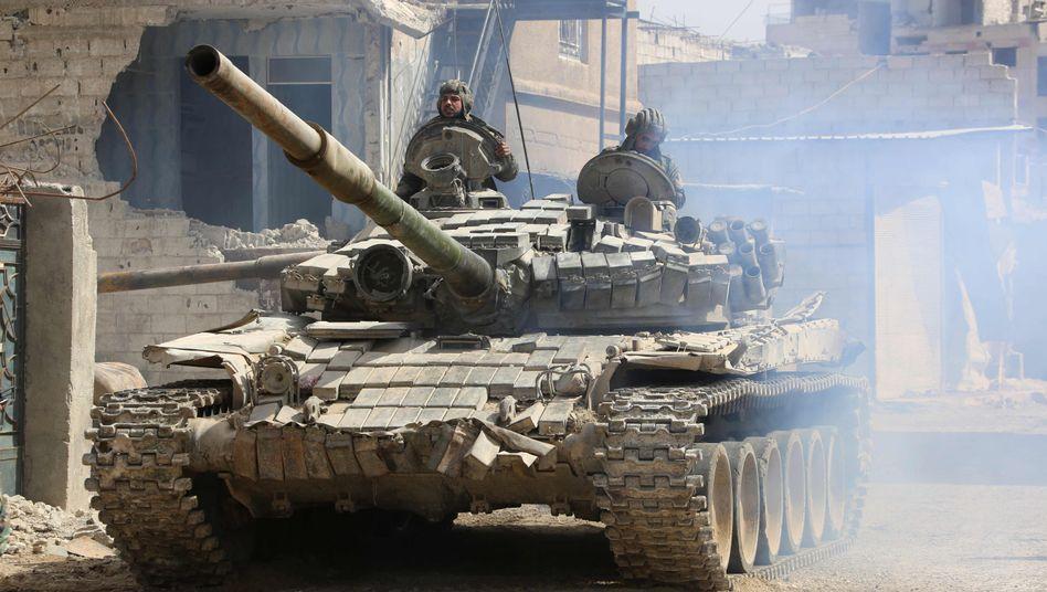 Soldaten der syrischen Regierung (Archivaufnahme)
