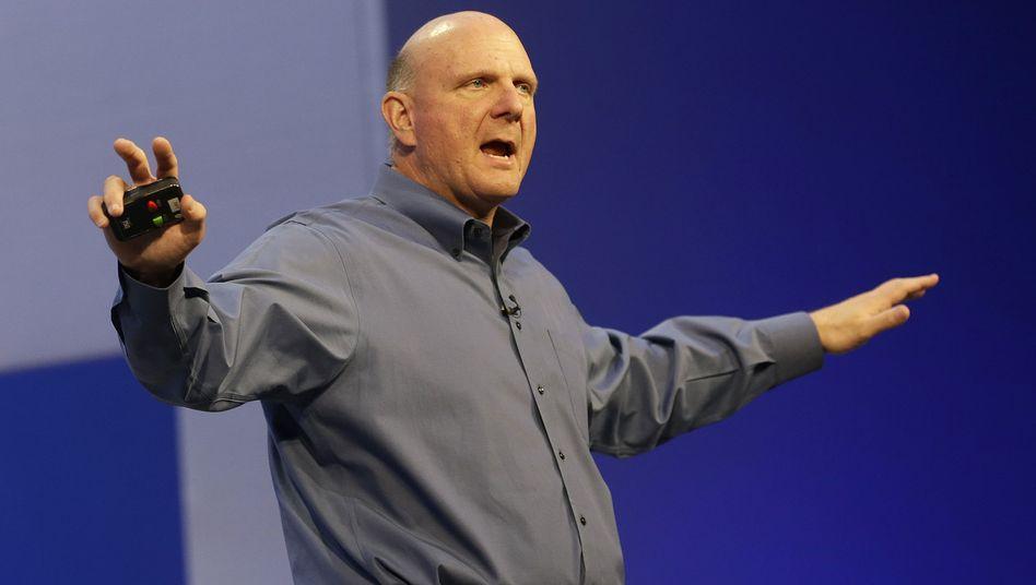 Microsoft-Chef Steve Ballmer: Alle Betriebssysteme unter einem Dach