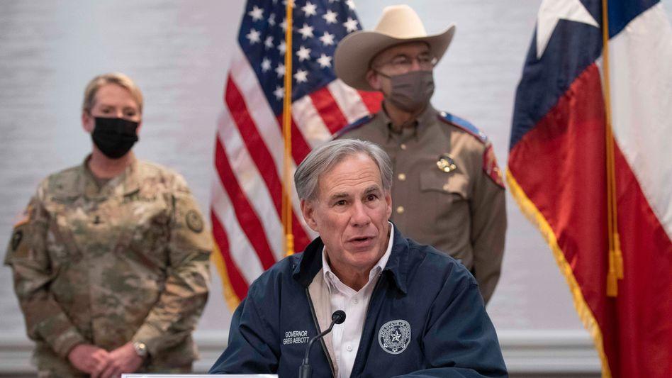 Greg Abbott, Gouverneur von Texas