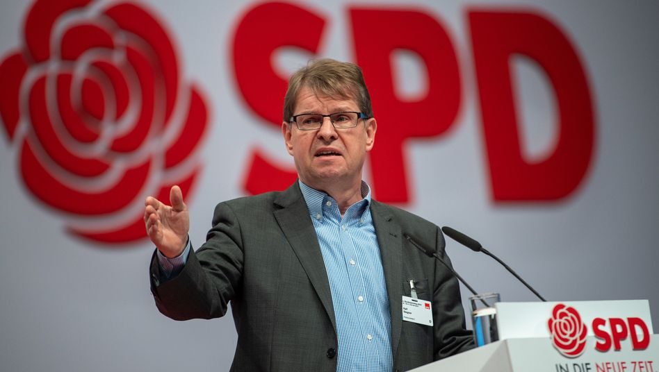 Ralf Stegner hält eine Fusion für möglich, wenn sich bei der Linken der Wille zum Gestalten durchsetzt