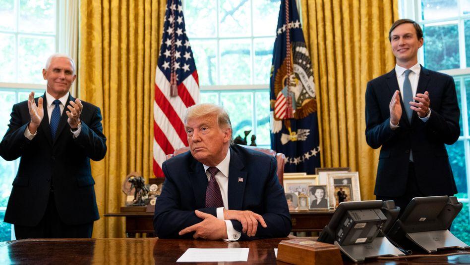 Ändert gerade die Machtverhältnisse im Nahen Osten: Donald Trump