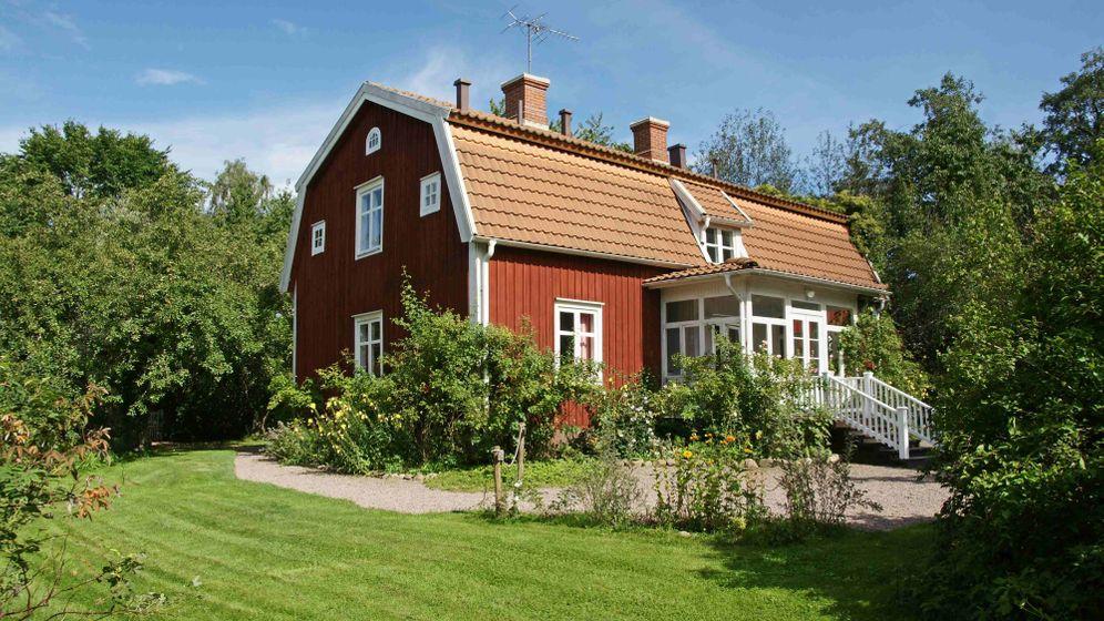 Astrid Lindgrens Elternhaus: Limonadenbaum und Kleiner Onkel