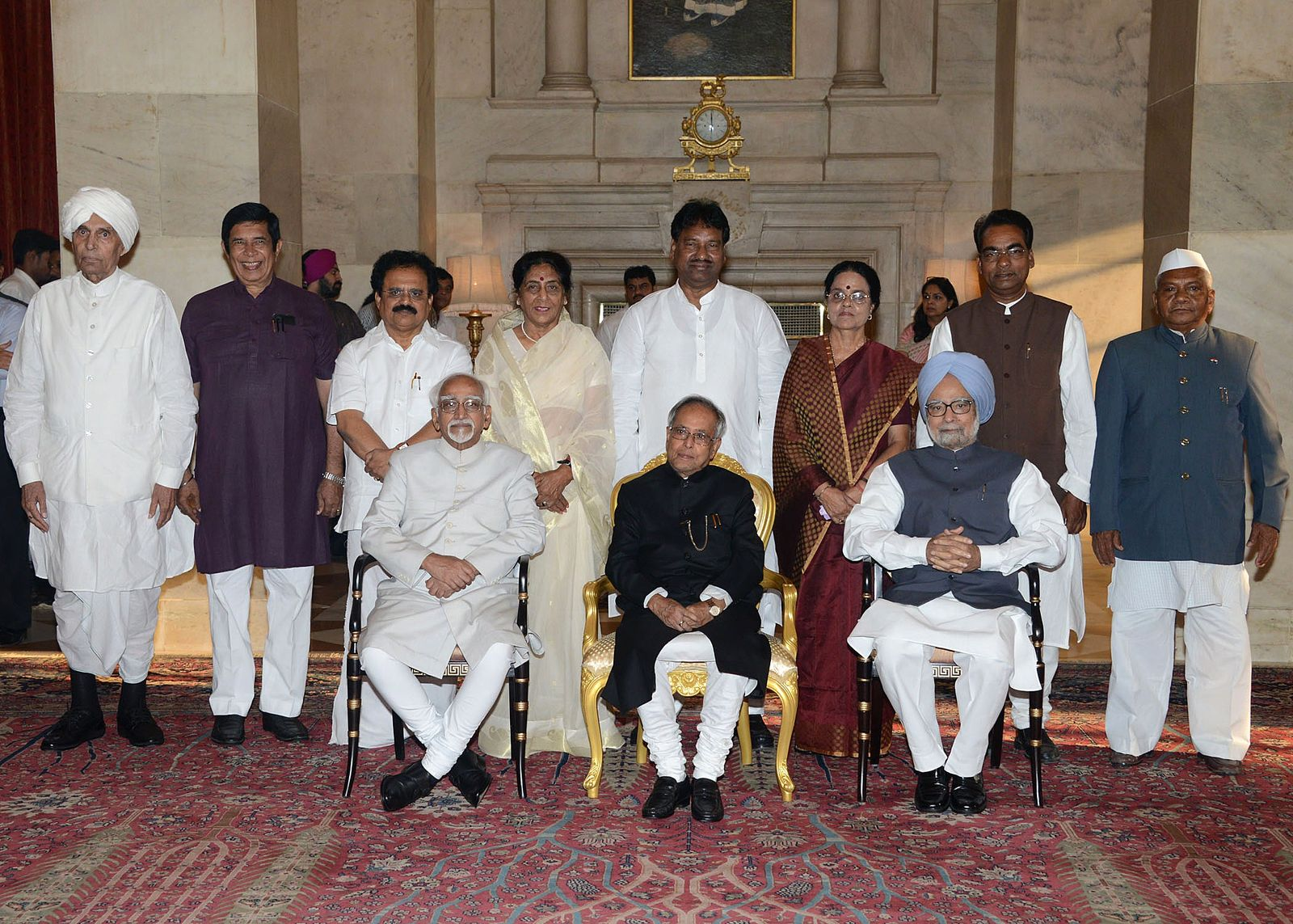Indien Präsident Mukherjee