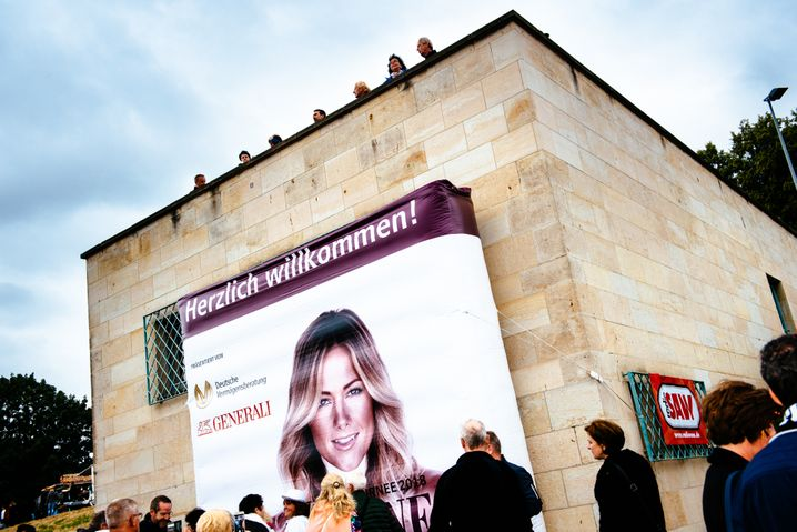 """Helene-Aufsteller in Leipzig: """"Wir steigen höher"""""""