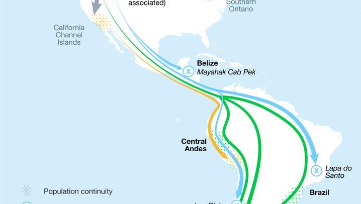 Besiedlung Amerikas: Von Menschen und Höhlen