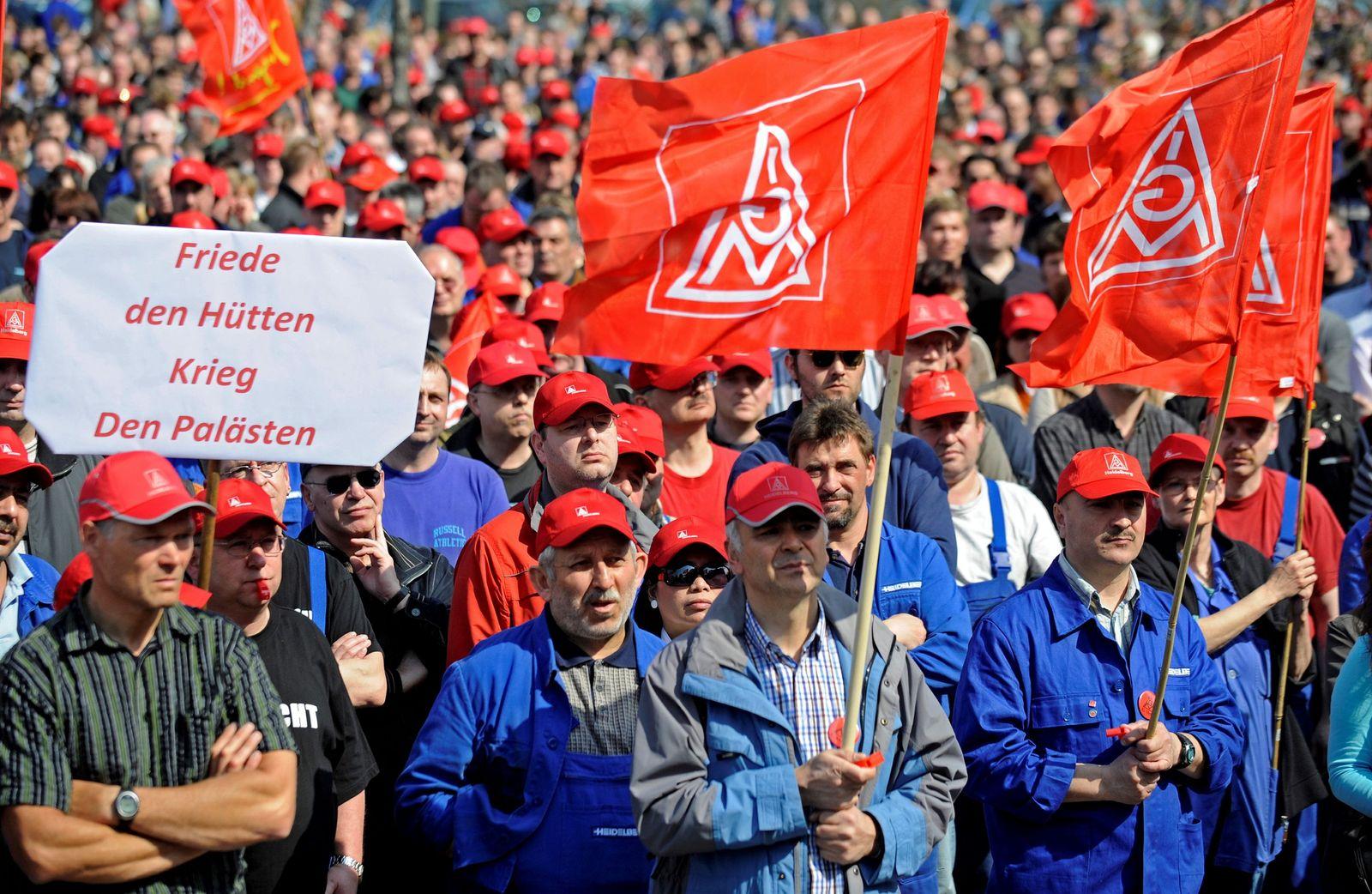 NICHT VERWENDEN Gewerkschaft / Proteste