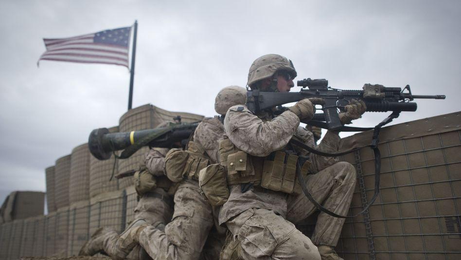 US-Soldaten in Afghanistan: Immer mehr US-Bürger sehen den Einsatz kritisch