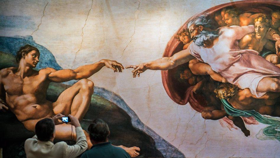 Gottesdarstellung von Michelangelo