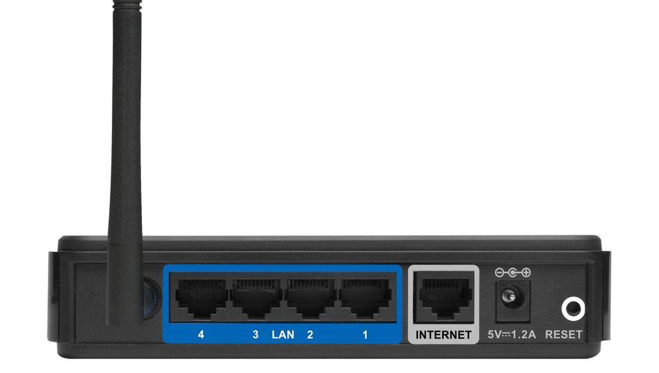 Router von D-Link (Symbolbild): Ältere Geräte haben eine Hintertür eingebaut
