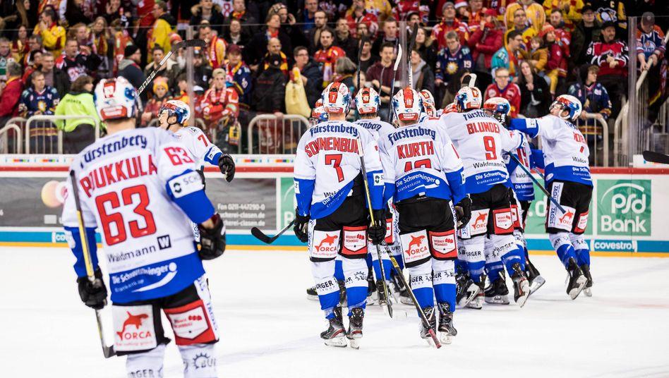 Die DEL-Spieler verlassen für diese Saison endgültig das Eis